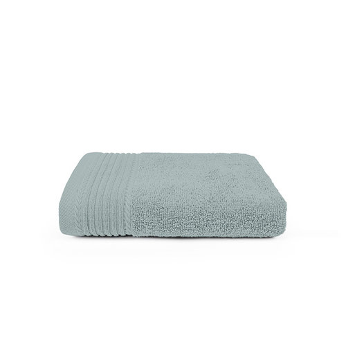 The One Towelling  Handdoek - Licht grijs - 50x100 cm - Set van 10