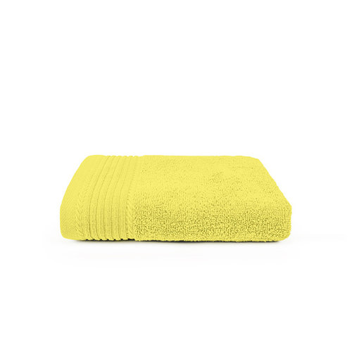 The One Towelling  Handdoek - Licht geel - 50x100 cm - Set van 10