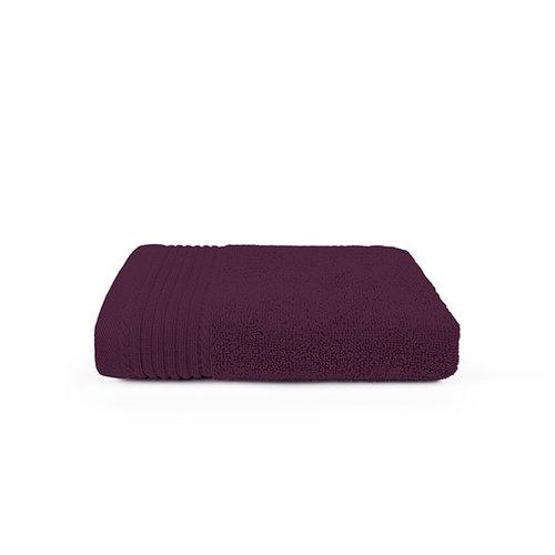 The One Towelling  Handdoek - Aubergine - 50x100 cm - Set van 10