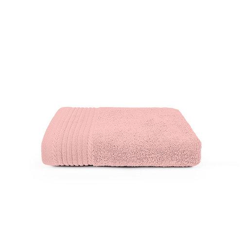 The One Towelling  Handdoek - Zalm roze - 50x100 cm - Set van 10
