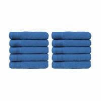 Handdoek - Aqua - 50x100 cm - Set van 10