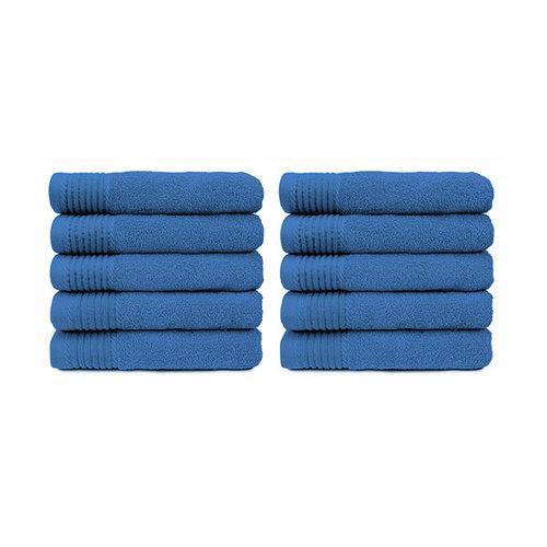 The One Towelling  Handdoek - Aqua - 50x100 cm - Set van 10