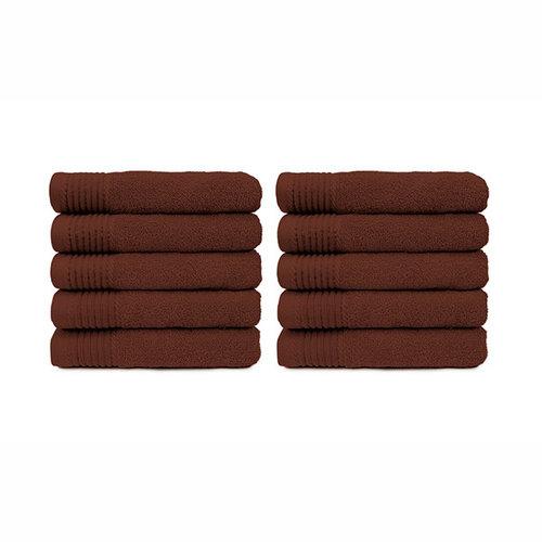 The One Towelling  Handdoek - Bruin - 50x100 cm