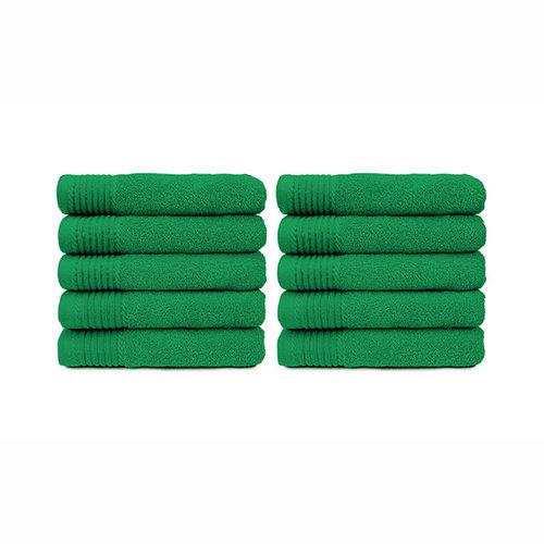The One Towelling  Handdoek - Groen - 50x100 cm