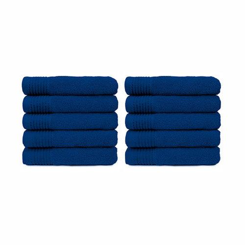 The One Towelling  Handdoek - Kobalt blauw - 50x100 cm - Set van 10