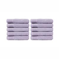 Handdoek - Lavendel - 50x100 cm - Set van 10
