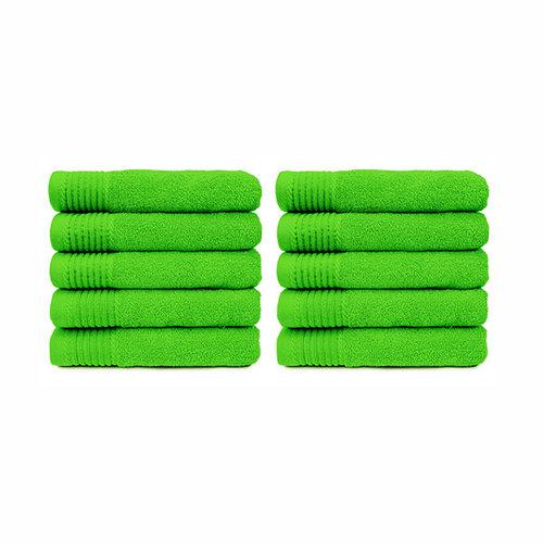 The One Towelling  Handdoek - Lime groen - 50x100 cm - Set van 10