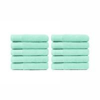 Handdoek - Mint - 50x100 cm -Set van 10