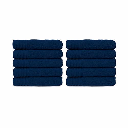 The One Towelling  Handdoek - Navy Blauw - 50x100 cm