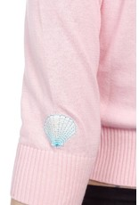 Collectif Lucy mermaid cardigan pink