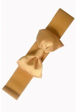 Banned Banned Bow Belt - gold