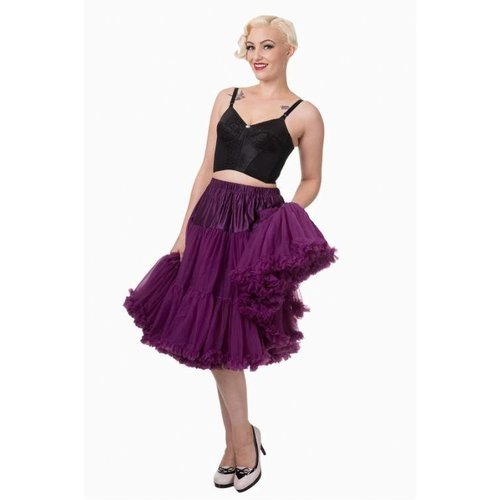 "Banned Banned Petticoat 26"" aubergine"