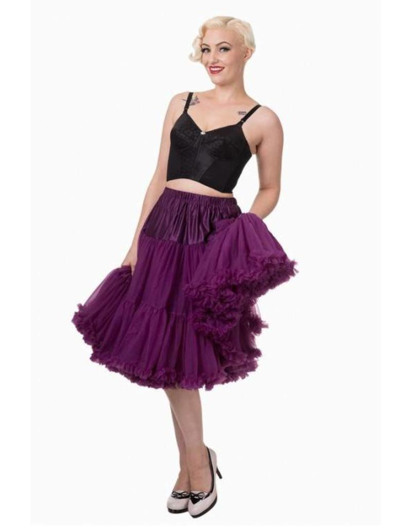 "Banned Banned Petticoat 27"" aubergine"