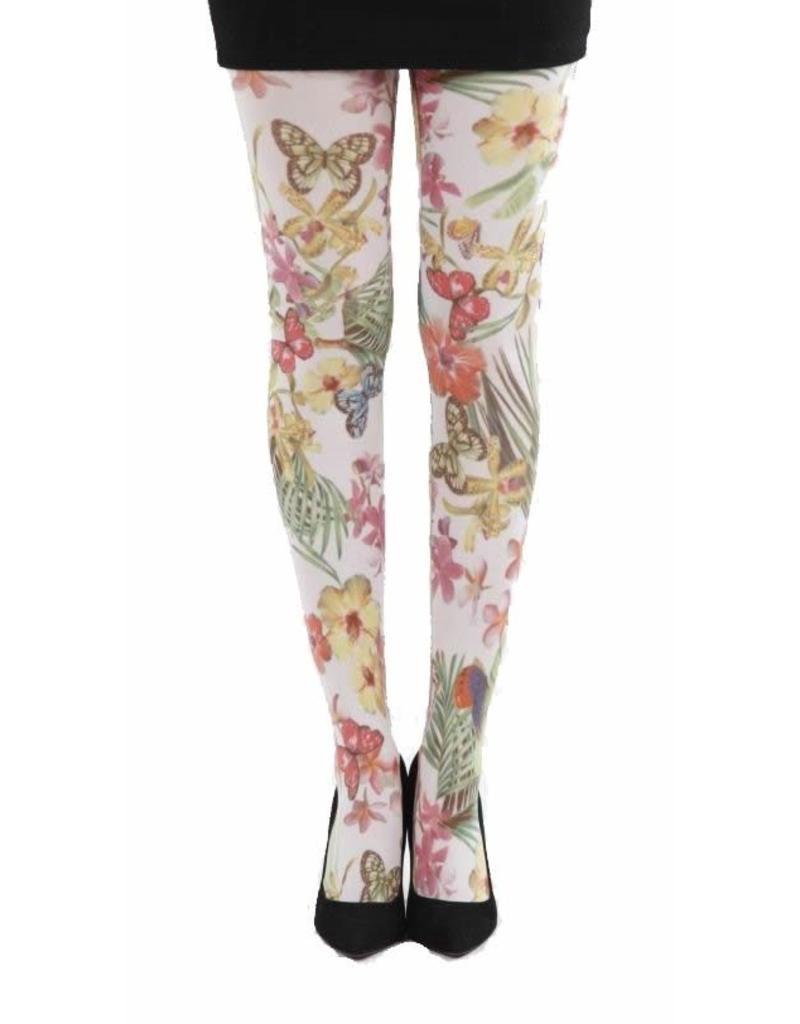 Pamela Mann Secret Garden printed tights