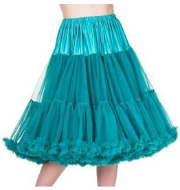 "Banned Banned Petticoat 27"" emerald"