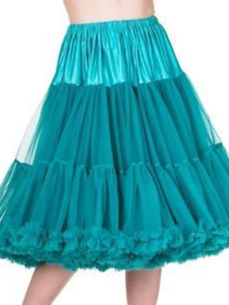 "Banned Banned Petticoat 26"" emerald"