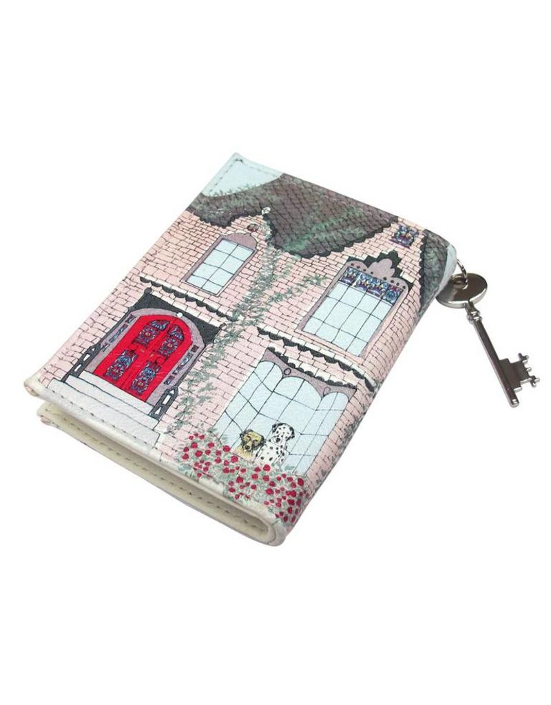 Disaster home Dalmatian wallet