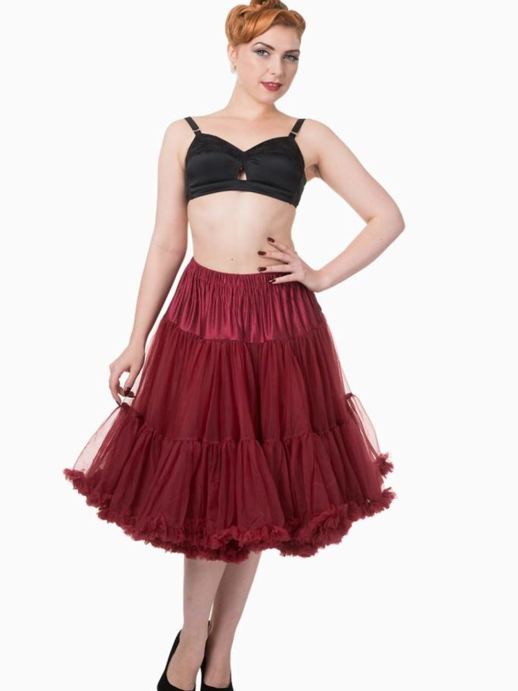 Banned Banned petticoat 26'' Bordeaux