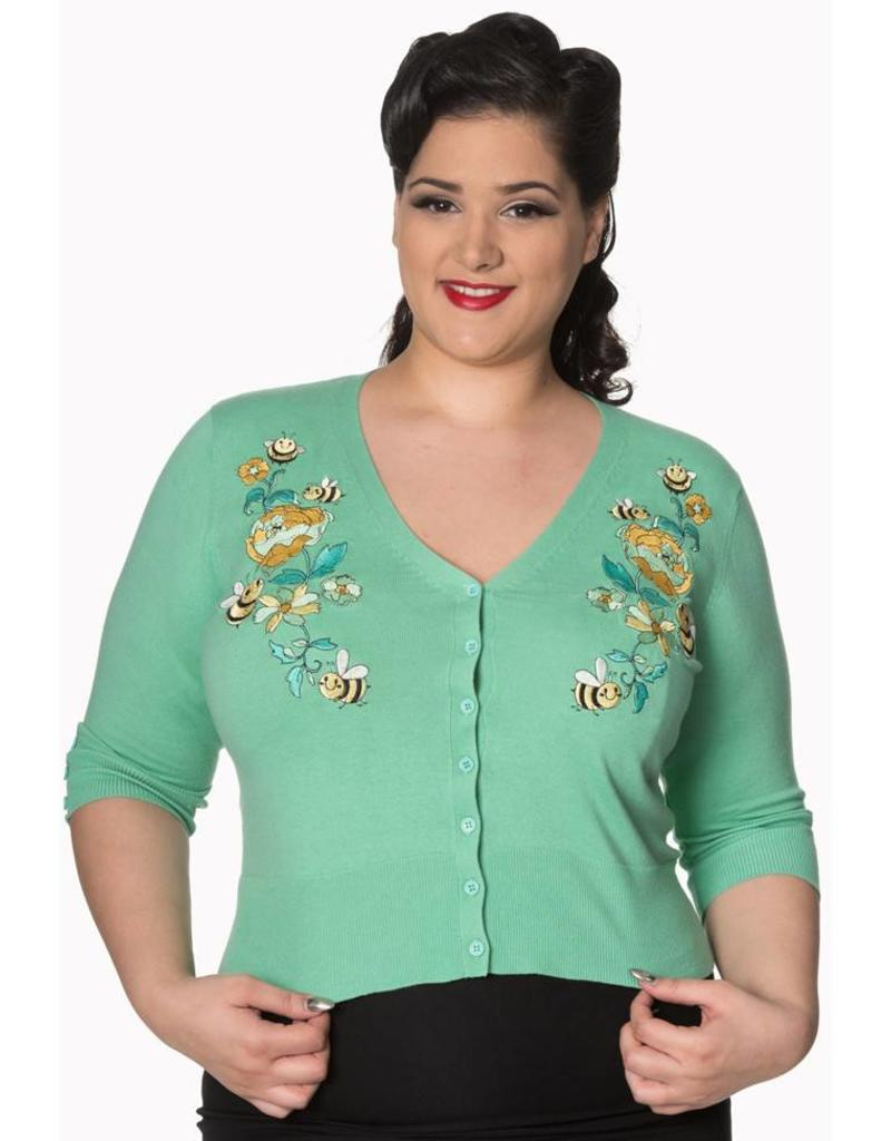 Banned Flickers cardigan mint