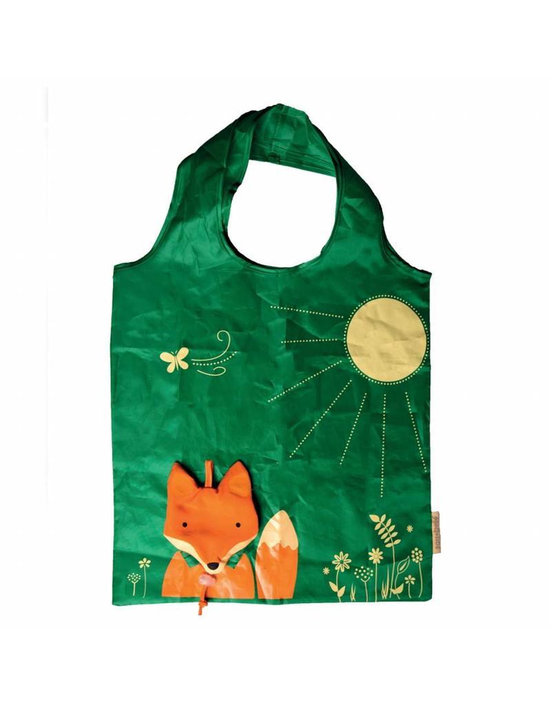 Sass & Belle Fox foldable shoppingbag