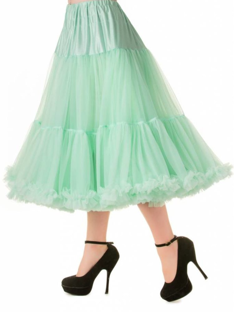 """Banned Banned Petticoat 26"""" Mint"""