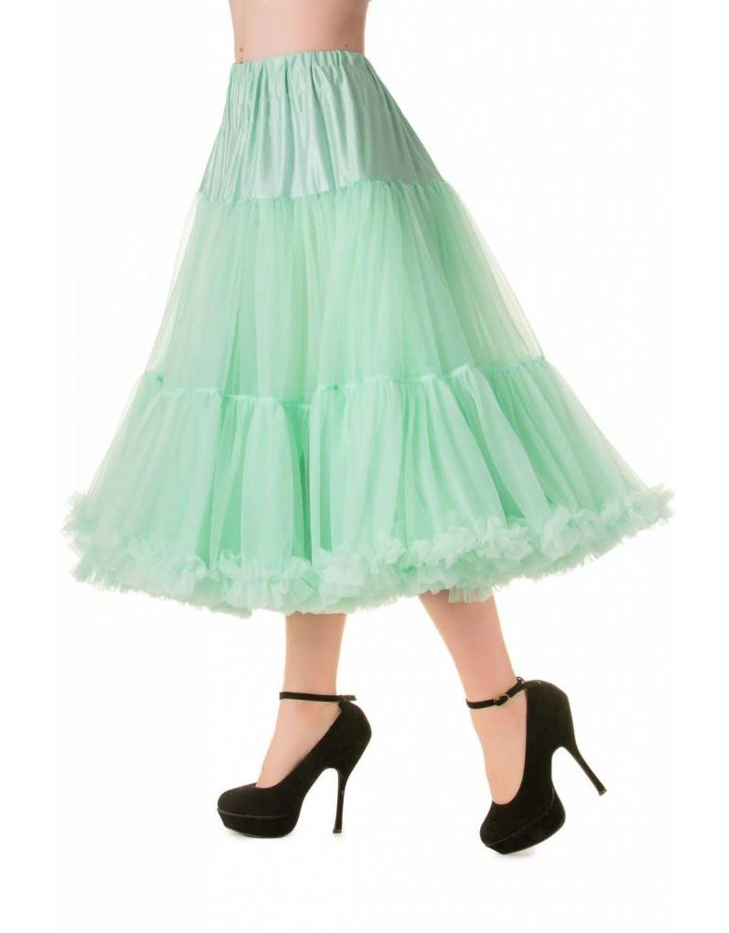 """Banned Banned Petticoat 27"""" Mint"""