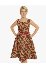 Lindy Bop 'Nova' Roses Dress