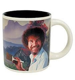 Bob Ross self painting mug