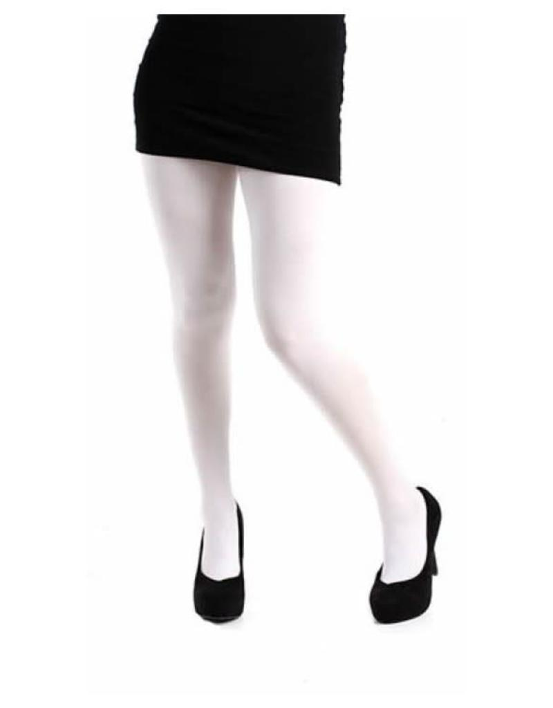 Pamela Mann 80 denier opaque tights - white