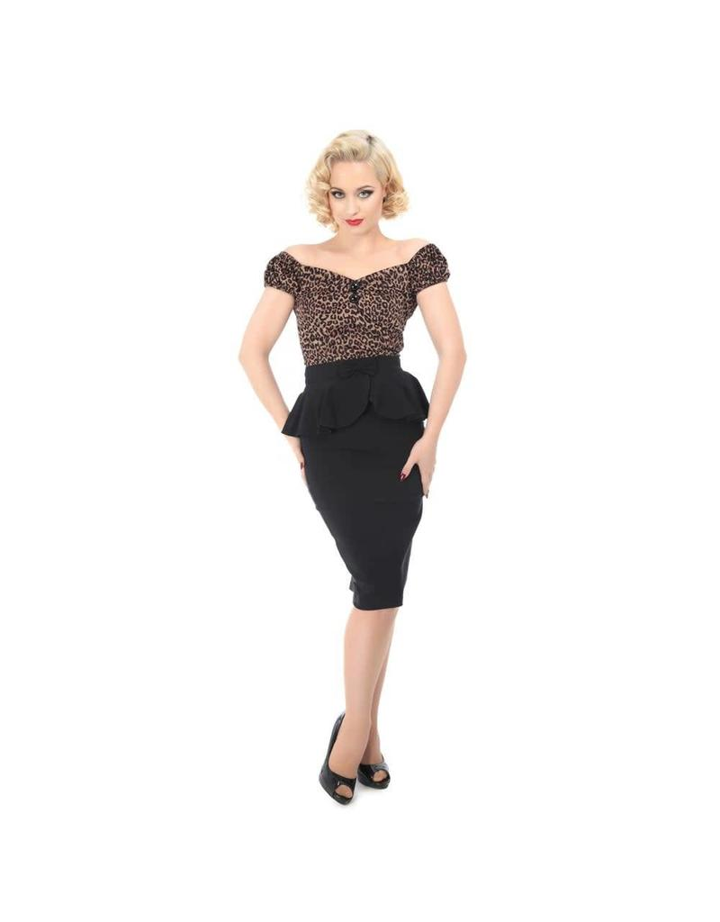 Collectif Peplum Skirt
