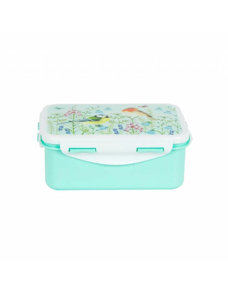 Sass & Belle Garden Birds Lunch Box