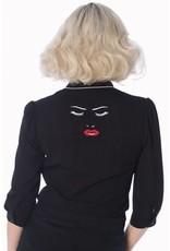 Banned Model face blouse
