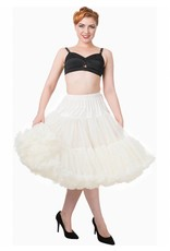 """Banned Banned Petticoat 27"""" ivory"""