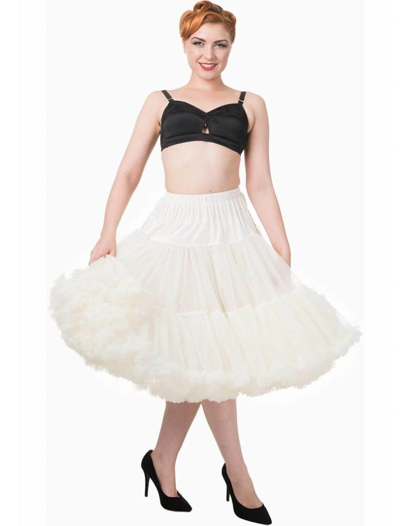 """Banned Banned Petticoat 26"""" ivory"""