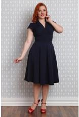Miss Candyfloss Claudette-Lee dress Navy
