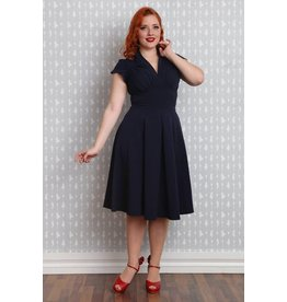 Miss Candyfloss Claudette-Lee dress Navy