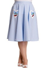 Hell Bunny Blue Gingham skirt