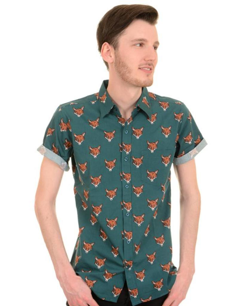 Run & Fly Fox shirt short sleeves