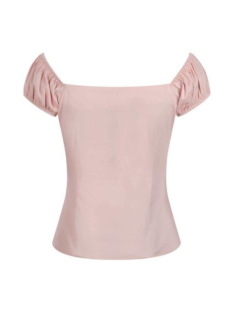 Dolores top roze