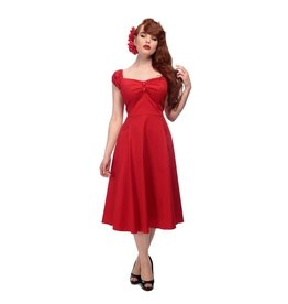 Collectif Dolores Doll classic red dress