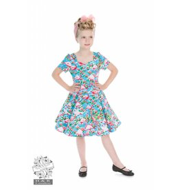 Hearts & Roses Pretty Flamingo dress