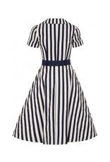 Collectif Brette Striped Swing Dress