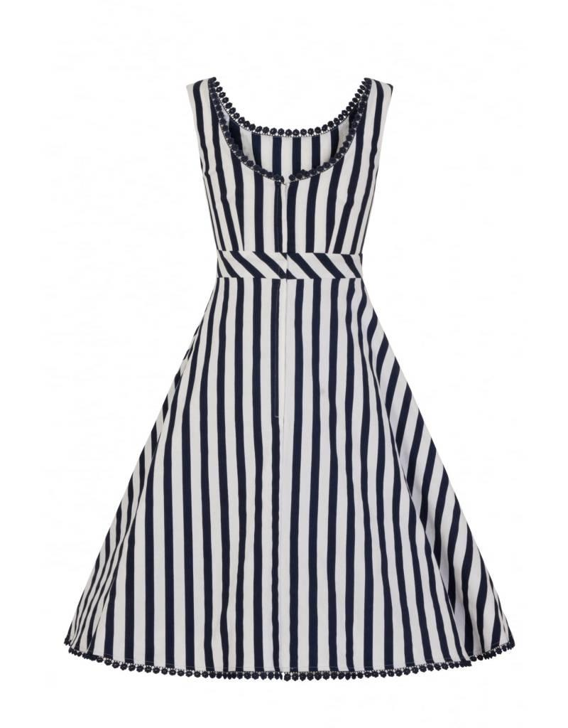 Collectif Lucille Striped Swing Dress