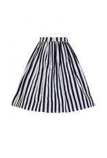 Collectif Jasmine Striped Swing Skirt