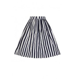 Collectif Jasmine Striped Swing Skirt