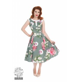 Hearts & Roses Floral Hepburn Dress