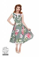 Hearts & Roses Floral Hepburn Dress