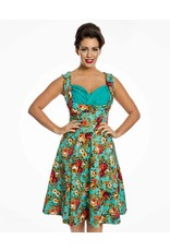 Lindy Bop 'Ophelia' floral spring garden party dress