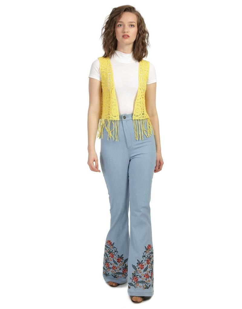 Bright & Beautiful Donna Folk Jeans