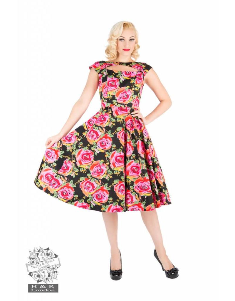 Hearts & Roses Miniature Cut Out Dress